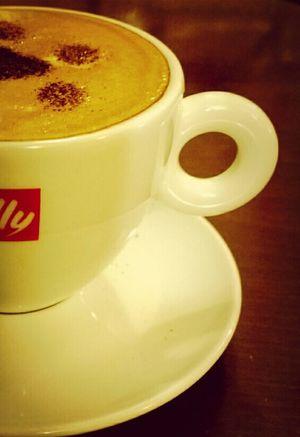 Caffè Latte Cafe Okhra Cafe