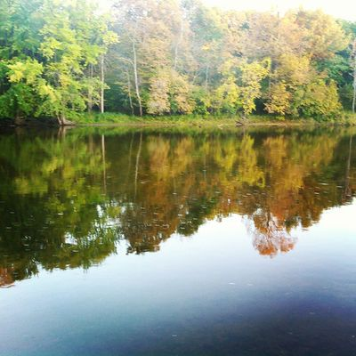 Fall colors Fall Fallcolors River Muskegon Beautiful Reflection LovinLife Summerends