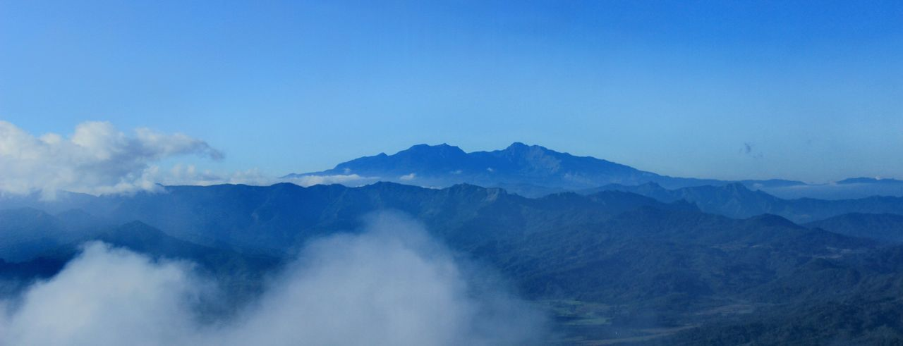 Bulusaraung Mount Mountain Fog Blue Forest Sky Mountain Range Landscape Mountain Peak Mountain Ridge Rocky Mountains Dramatic Landscape