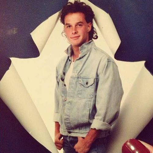 My dad was such a stud.. Mullet Throwback Repost from @eileenintowells