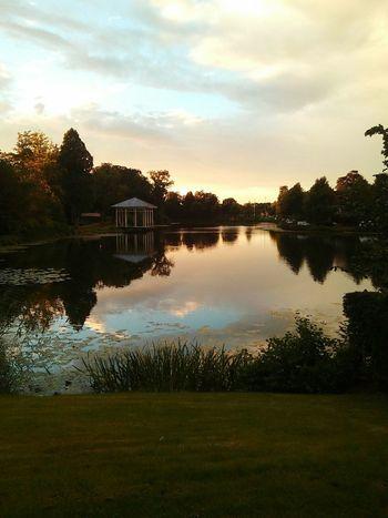 Sunset Sunset_collection Tramonto Riflection Nature Beautiful Nature Paesaggiostupendo☀ Tranquility No People Outdoors Non-urban Scene Alberi Tramontimeravigliosi