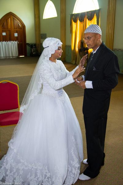 Wedding Ceremony Wedding Bride Wedding Dress Celebration Life Events Muslimwedding Stillife Caribbean Trinidad And Tobago Architecture Lifestyles Ceremony