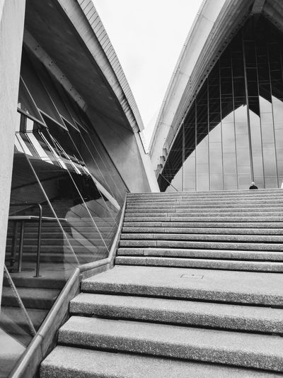Sidney Opera House Architectural Detail Stairs Steps Steps And Staircases Arch Architecture Roof Curve Sydney Sydney, Australia Outdoor Photography Australia Blackandwhite Photography Daylight Blackandwhite Black And White Black & White Opra House Public Roof Bridge - Man Made Structure Steps Steps And Staircases Architectural Feature Architectural Detail Architectural Design Architecture And Art The Architect - 2018 EyeEm Awards