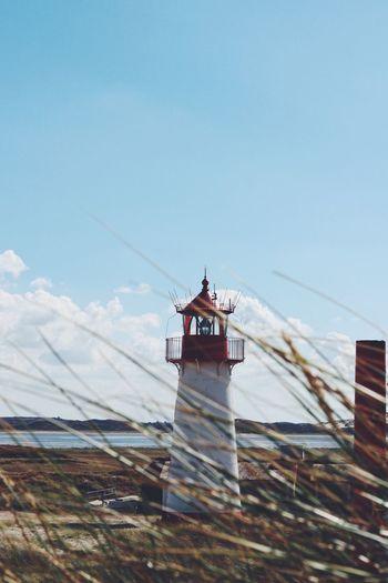 Lighthouse. Sychtig SyltEllenbogen ListWest ListSylt Leuchtturm Sylt, Germany Sylt MadameHamburg Sky Built Structure Architecture Building Exterior Building No People Lighthouse Sunlight Outdoors Travel