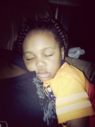 Awww My Baby Cousin Tyler Sleeping