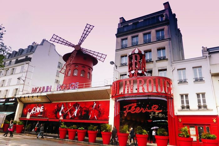 Moulin Rouge, Paris Paris France Frankreich Lovetheimage Red Mill Windmill Theater Theatre Moulin Rouge Moulinrouge Citytrip City Of Love City Architecture_collection Architecture
