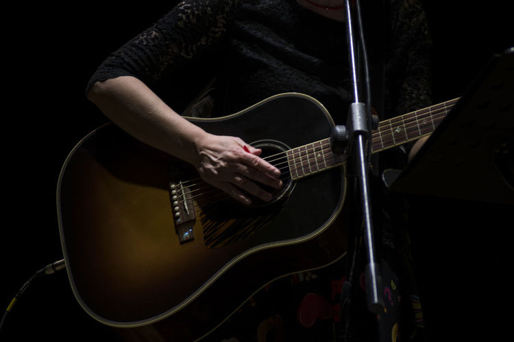 Day Electric Guitar Fretboard Guitar Human Hand Indoors  Music Musical Instrument Musical Instrument String Musician One Person People Performance Playing Plucking An Instrument Real People Rock Music Rock Musician Young Adult