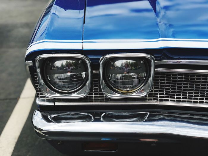 Vintage Cars Antique Car Chrome The Week on EyeEm Mode Of Transportation Car Motor Vehicle Transportation Land Vehicle Day Glass - Material Close-up No People Reflection Retro Styled Headlight Focus On Foreground Travel