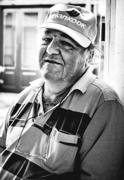 Cap Front View Hat Males  One Person Portrait Senior Men
