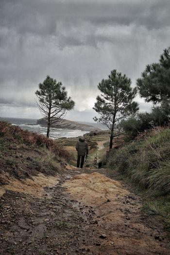 Sonabia Cantabria Cloud - Sky Nature Sky Tree Adult Landscape Naturaleza🌵🌻🎶 SPAIN EyeEmNewHere
