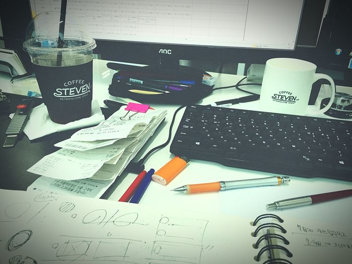 With Coffee Work