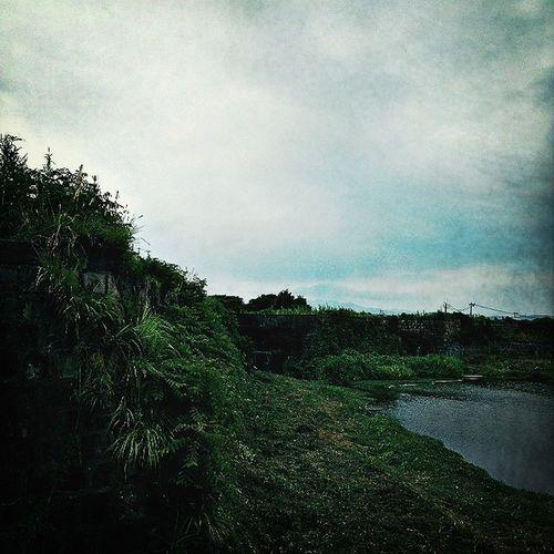 1588年より続く干拓事業。写真は1895年に出来た配水堰。