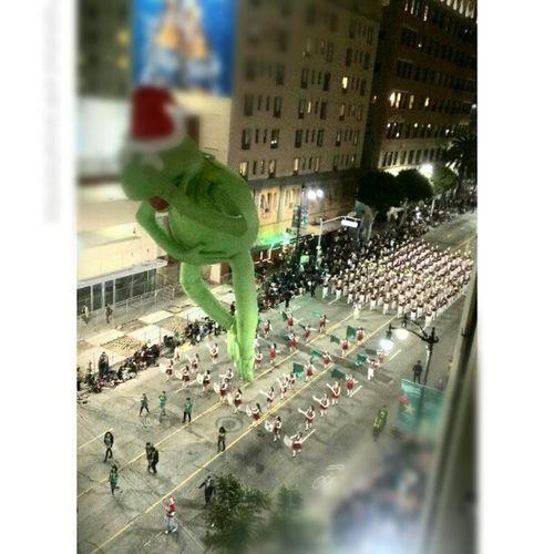 Kermie !!! Hollywood Christmas Parade