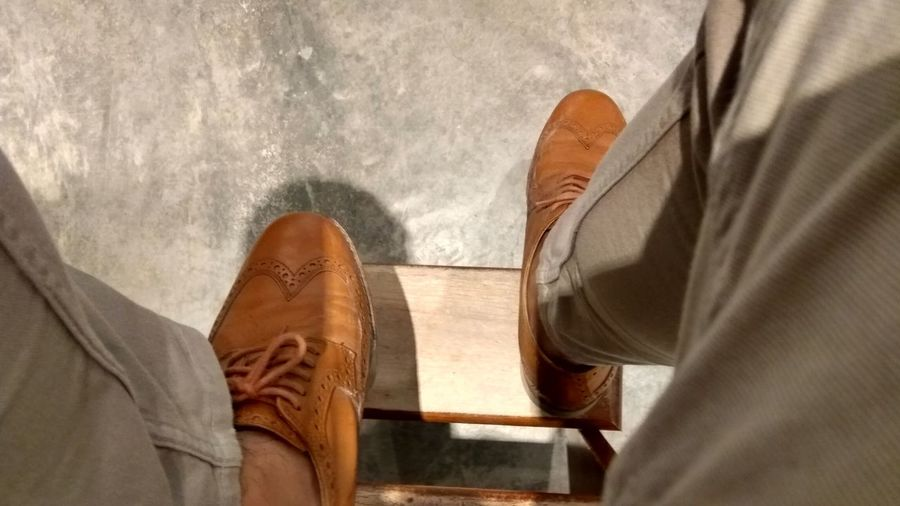 Brownleather Brogues Wingtips Dayatwork Shoes