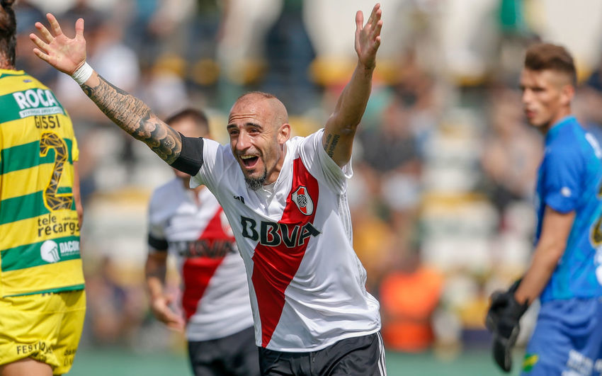 Celebration River Plate Argentina Futbol Goal Happiness Pinola Player Positive Emotion Soccer