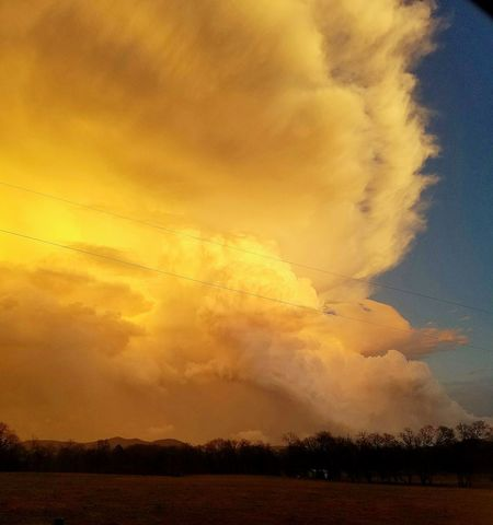 angry cloud! Sunset Dramatic Sky Cloud - Sky Nature Orange Color Yellow Landscape Beauty In Nature Cloudscape No People Sky Outdoors Day
