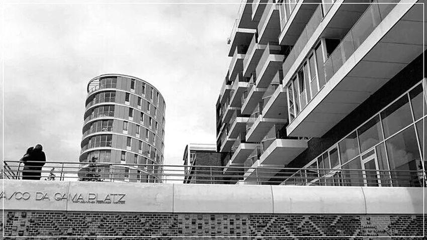 Hamburg Hafencity Monochrome Blackandwhite