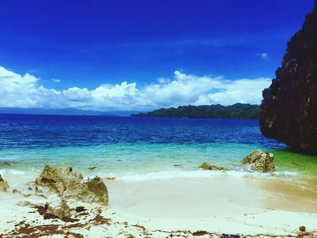 Island hopping in caramoan island bicol Nature Beach Sand Sky And Clouds Naturelover
