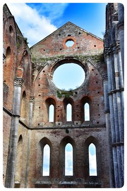 San Galgano, Toscana. San Galgano Cathedral Architecture Built Structure Sky Building Exterior History The Past Arch