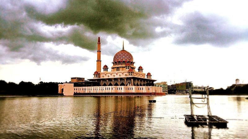 putrajaya mosque Outdoors Tropical Climate My Country In A Photo Memories