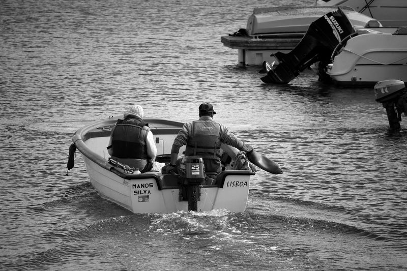 Boat Fishermen Marina Hard At Work! Waves, Ocean, Nature Minimalism Eye4photography  Minimalist Black And White EyeEm Gallery EyeEm Best Shots Blackandwhite Learn & Shoot: Simplicity EyeEmBestPics Seaside People People Photography Minimalobsession Bnw Blackandwhite Photography Black&white People Watching Light And Shadow Taking Photos Portugal