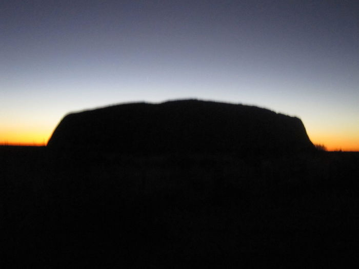 #NoFilter #nofiltertravel #outback #silhouette #sunset #travel #travelphotography #uluru