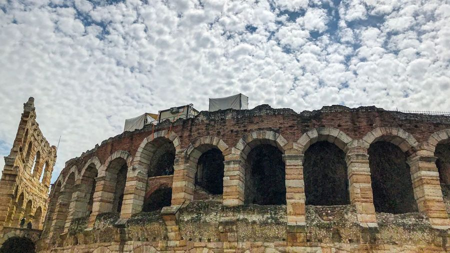 Architecture Built Structure The Past History Sky Building Exterior Arch Cloud - Sky Religion Building Low Angle View Belief No People Ancient Tourism Place Of Worship Spirituality Travel Travel Destinations Day