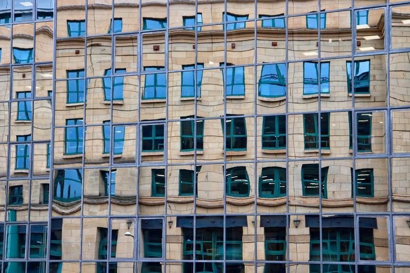 Reflections within buildings