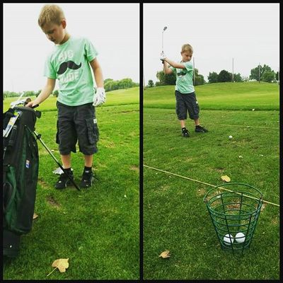 Golf lessons are starting to pay offGoingpro 100footdrive Proundmom Golf pgawillowglengolf PhotoGrid