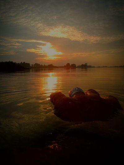 Swimming Sunset Dive Open Edit Enjoying Life Gulliver's Travels Point Of View Sunset_collection Capture The Moment