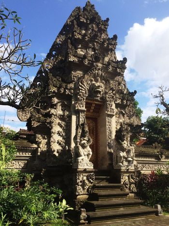 Balinese Architecture Sculpture Architecture Traditional Architecture Bali Ubud Hindu Temple Skillfull Detail Stone Material Carving Relief Sculpture ArtWork Stone Carving