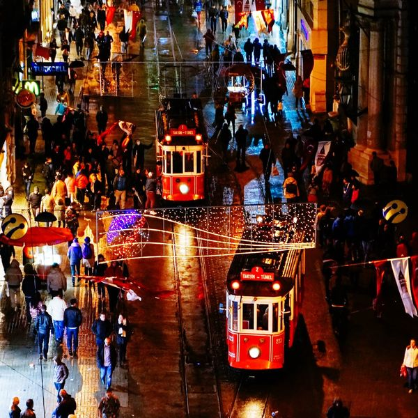 On The Move Istanbul Tramway Public Transportation