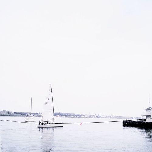 Sail away.. Vscocam Minimalobsession Minimalism Eye For Photography