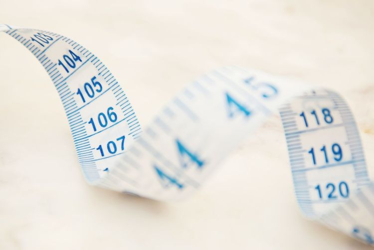 Measurring tape metter with blue figures. White background. Control weight, loose weight. Measurring Tape Loose Control Weight Control Dieting Ribbon Scale  Slim Diet Fat Lifestyle Still Life Balance Health Metter Measure Igure Loss Overweight Business Number Close-up Tape Measure Instrument Of Measurement Meter - Instrument Of Measurement Ruler Waist Tailor