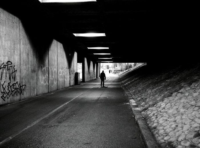 Day 270 - Under the bridge Helsinki Blackandwhite Streetphotography Streetphoto_bw 365project 365florianmski Day270