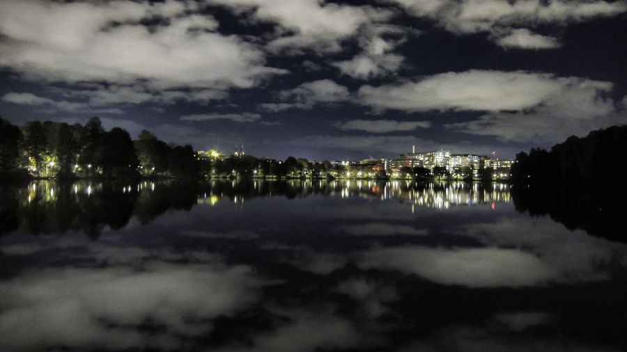 Lost In The Landscape Mirror Lake Night Sky Water Reflection S95 The Graphic City