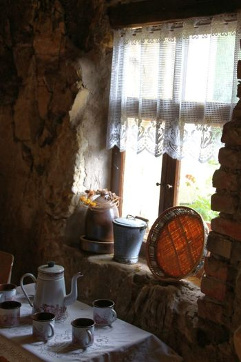 Window of cave house Cave House Day Indoors  No People Old Old House Old-fashioned Oldschool Window Window Frame Windows And Doors Windows_aroundtheworld Wine Cask
