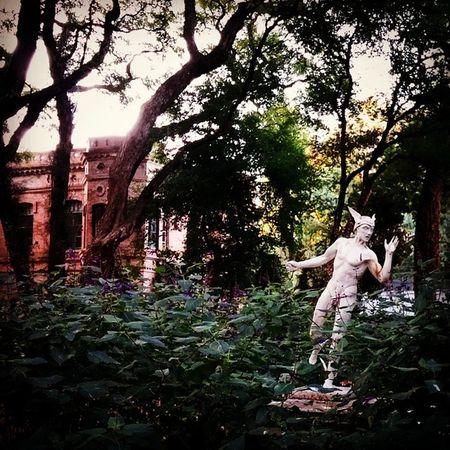 Hermes Jardin Botánico . Botanic Plants Garden Sculpture Art