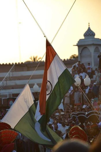 Waghaatariborder Flags In The Wind  Togetherness Positivity Enthusiasm For Country