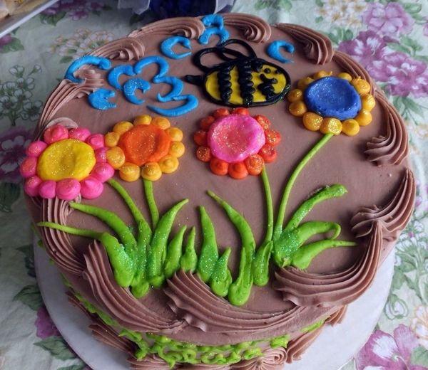 Birthday Cake Colorful Yummy! The Press - Treasure