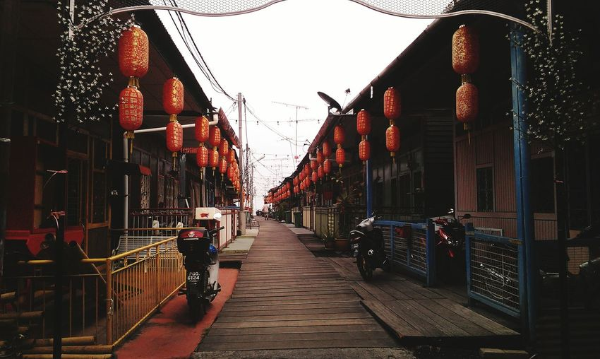 City Hanging Sky Building Exterior Architecture Built Structure Chinese Lantern Bridge - Man Made Structure The Way Forward Paper Lantern Lantern Footbridge Empty Road Chinese New Year Chinatown Chinese Lantern Festival The Traveler - 2019 EyeEm Awards The Mobile Photographer - 2019 EyeEm Awards The Great Outdoors - 2019 EyeEm Awards The Photojournalist - 2019 EyeEm Awards The Street Photographer - 2019 EyeEm Awards