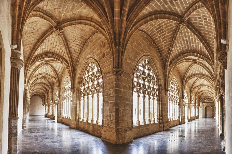 Corridor of a building