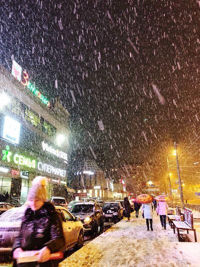 Snowing Snow
