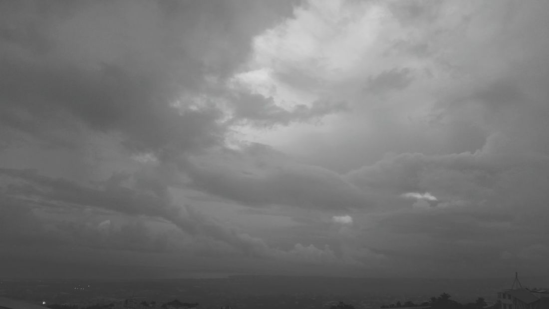 Weather Cloud - Sky Dramatic Sky Outdoors No People Nature Beauty In Nature City Rainy Days The Secret Spaces Reunion Island Stay Inside