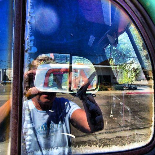 Selfie in a Truck....Imagine That! Trailblaxers_rurex Nexus_soldier Rustlord Patina_perfection car_czars nothingisordinary