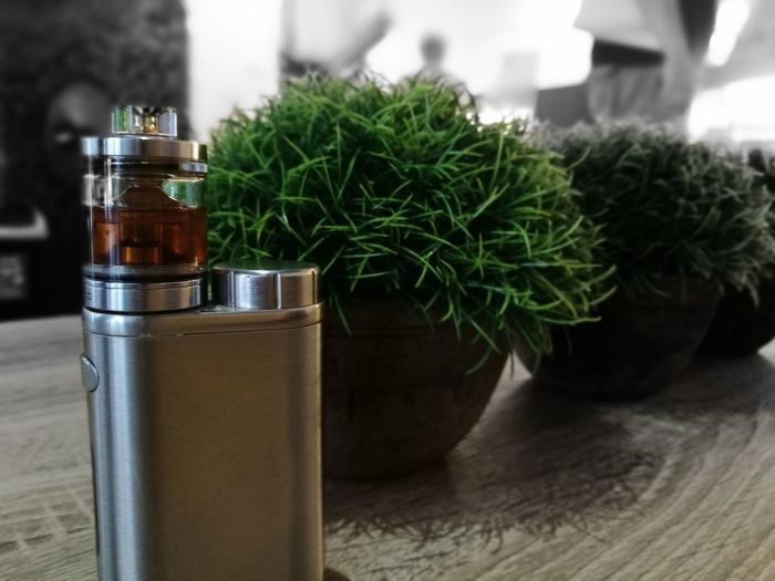 my vape machine #picorta #vapelife Perfume Jar Bottle Drinking Glass Close-up