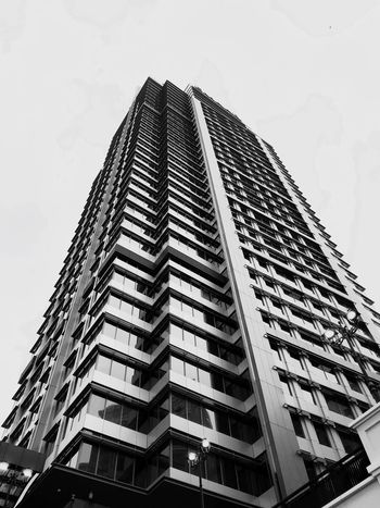 Architecture Low Angle View Building Exterior Built Structure Skyscraper Modern City Day Outdoors Apartment No People Sky