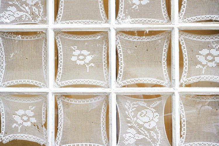 Janela Backgrounds Close-up Day Full Frame Indoors  No People Pattern Renda Tiradentes