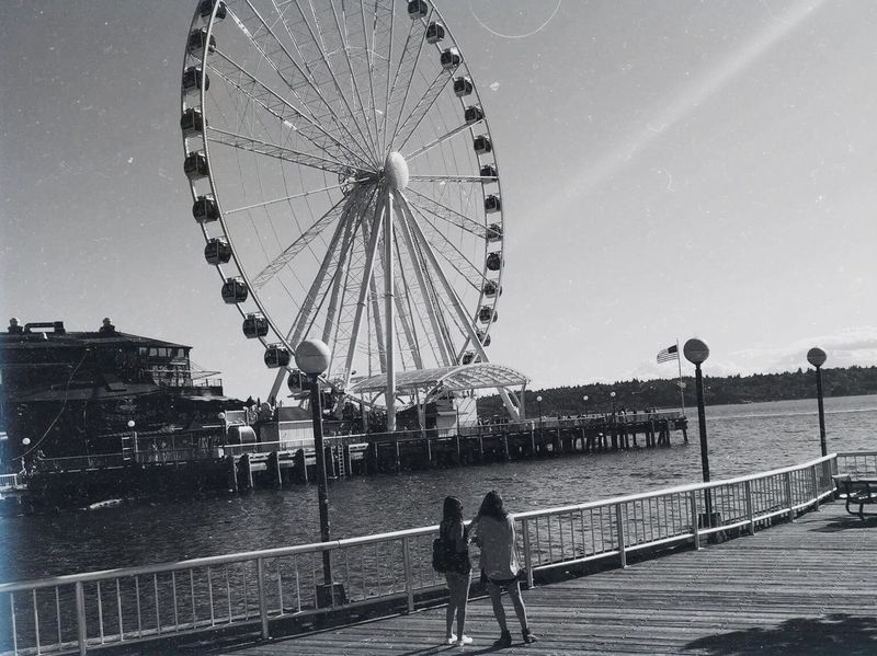 A Memoir Beauty In Nature Black And White Blue Clear Sky Feel Ferris Wheel Filters First Eyeem Photo Friends Happıness Inspiration Nature One Person Park People Photography Polaroid Sea Simplicity Sunglasses Sunset Vacations Vintage Water Women