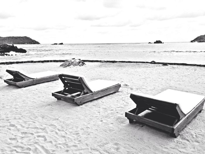 Blackandwhite Life Is A Beach Holiday Traveling